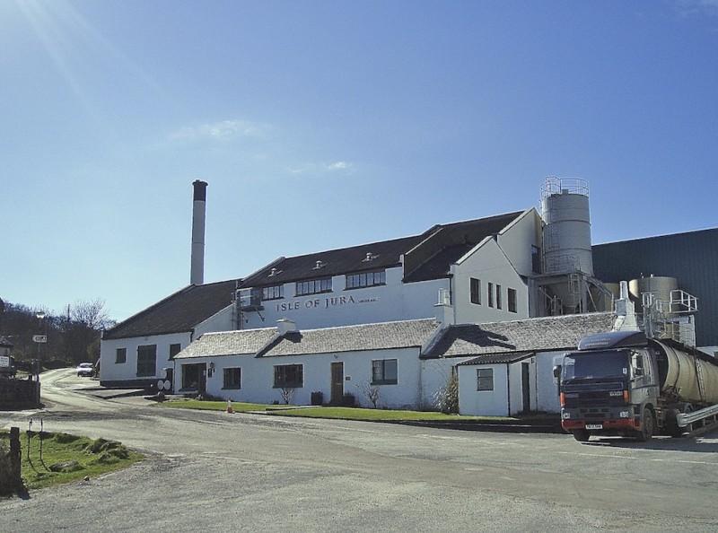 Jura's only distillery