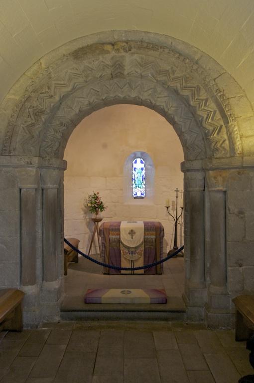 Inside St Margaret's Chapel