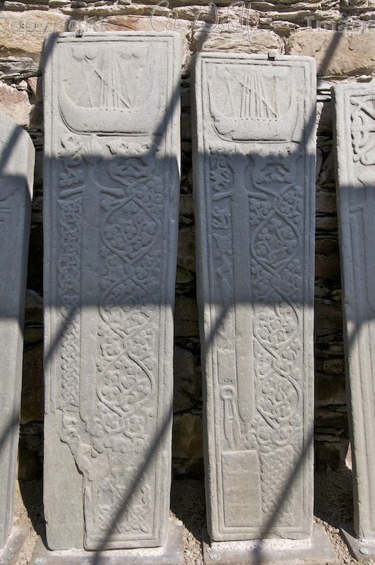 Kilmory Knap - grave stones (5)