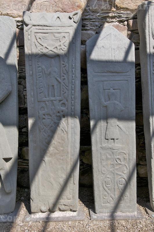 Kilmory Knap - grave slabs 4