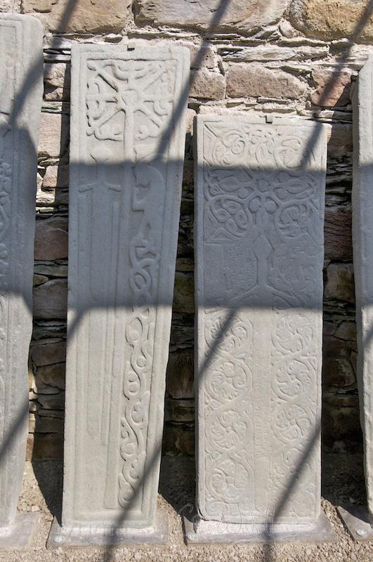 Kilmory Knap - grave slabs