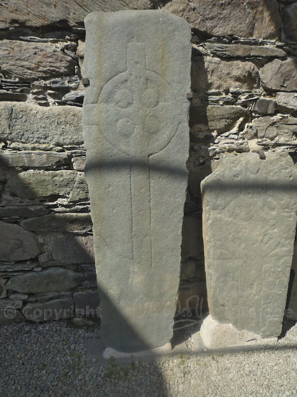 Early Christian stones, dated to before 1000 AD