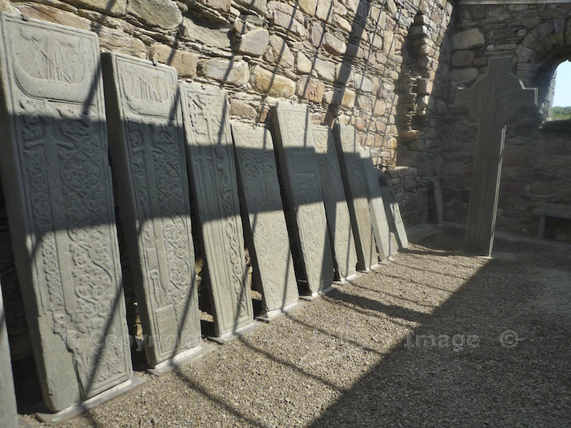 Kilmory Knap Chapel - stones