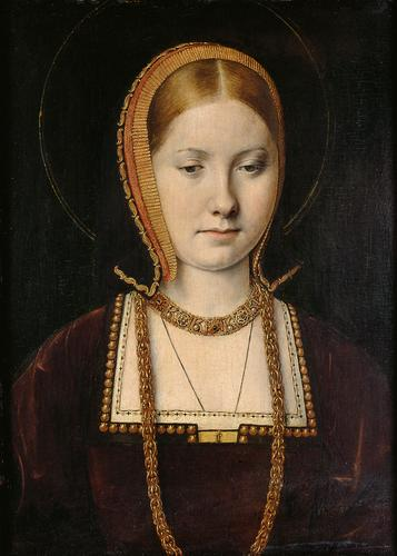 Catherine of Aragon by Michael Sittow
