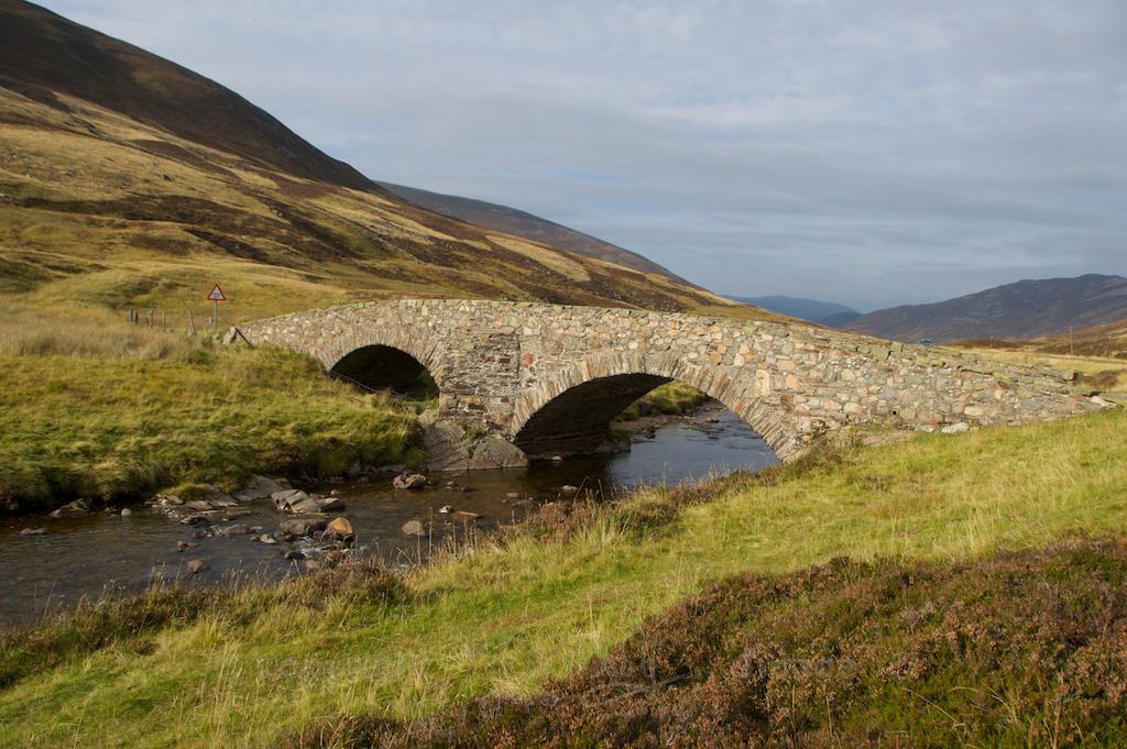 Fraser's Bridge, Glen Clunie (Oct 2013)
