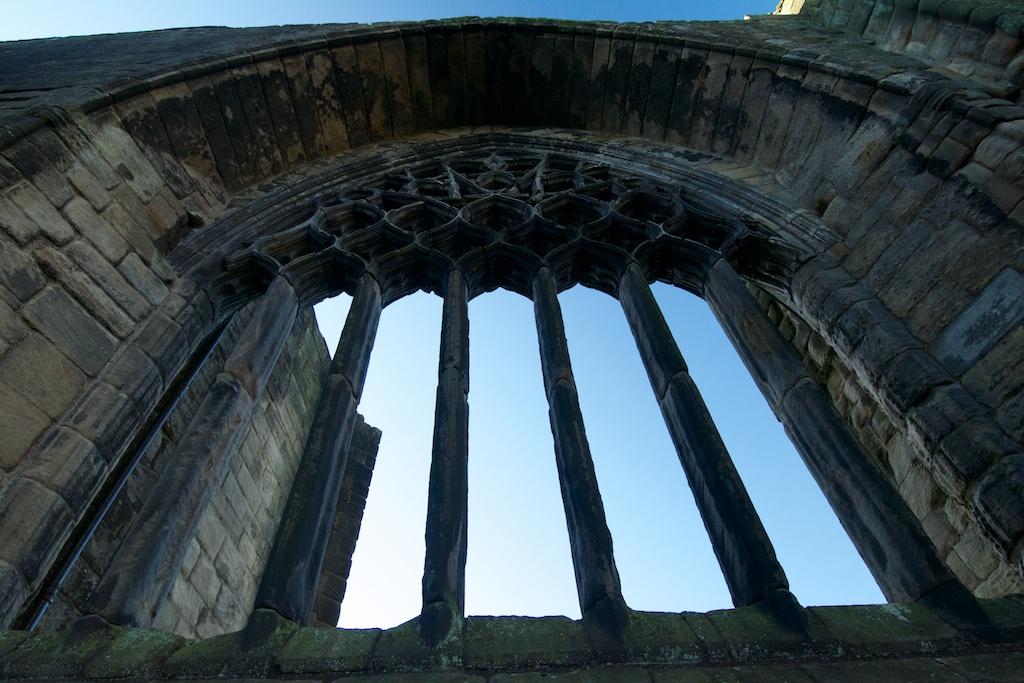 Dunfermline 14th Century window