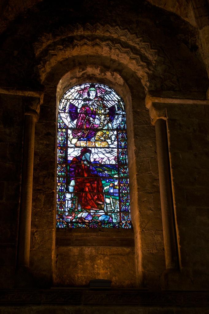 Dunfermline Abbey window