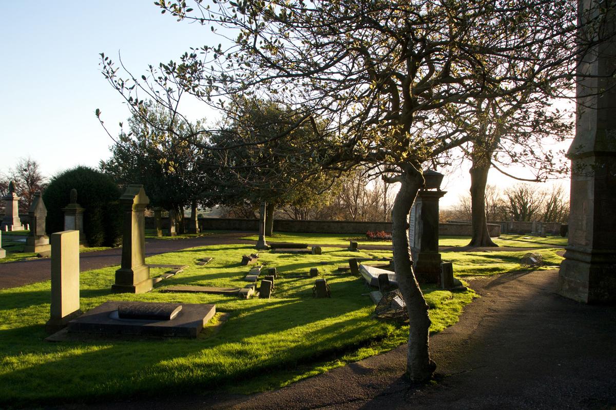 Dunfermline graveyard