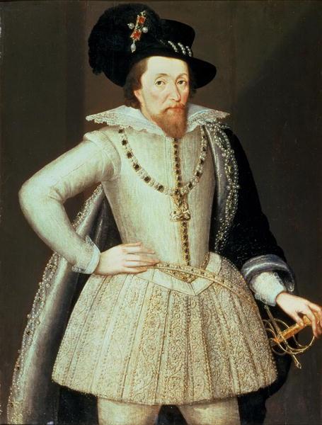 James VI and I by John de Critz the Elder