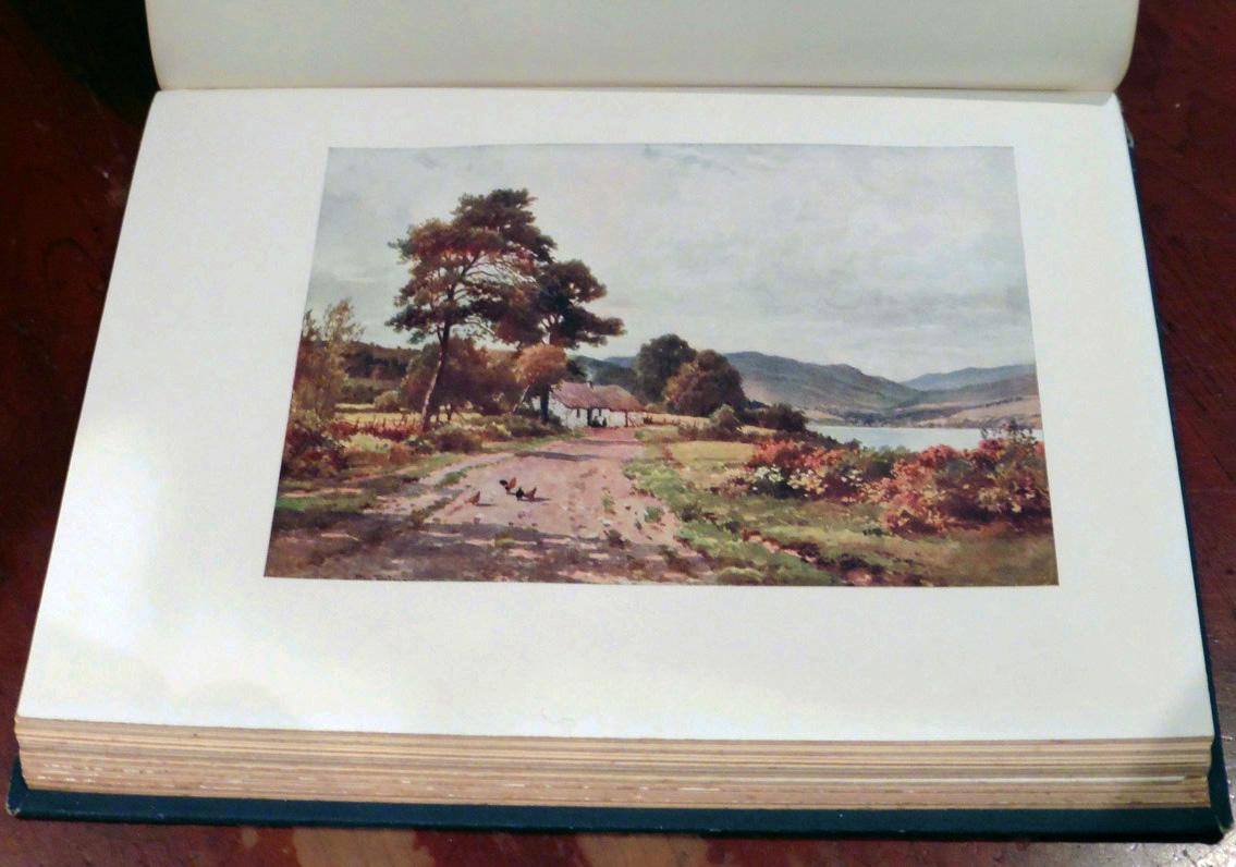'A Croft near Taynuilt, Loch Etive, Argyllshire'