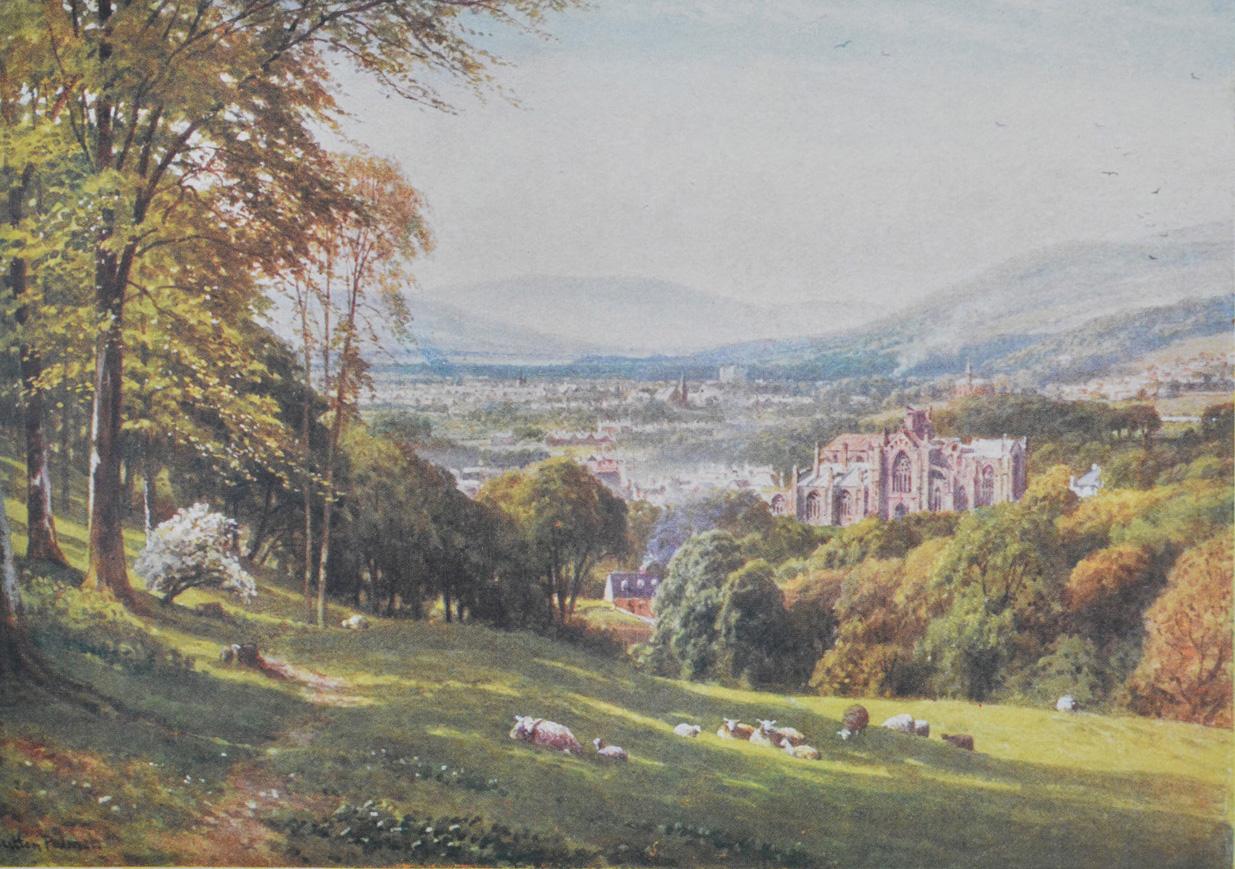 Bonnie Scotland - Melrose, Roxburghshire